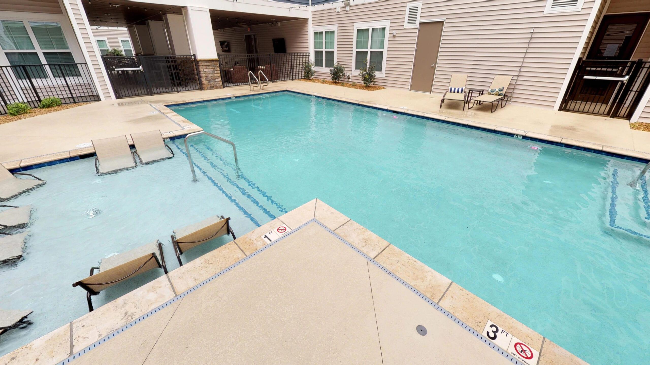 Resort-Style Pool & Sundeck