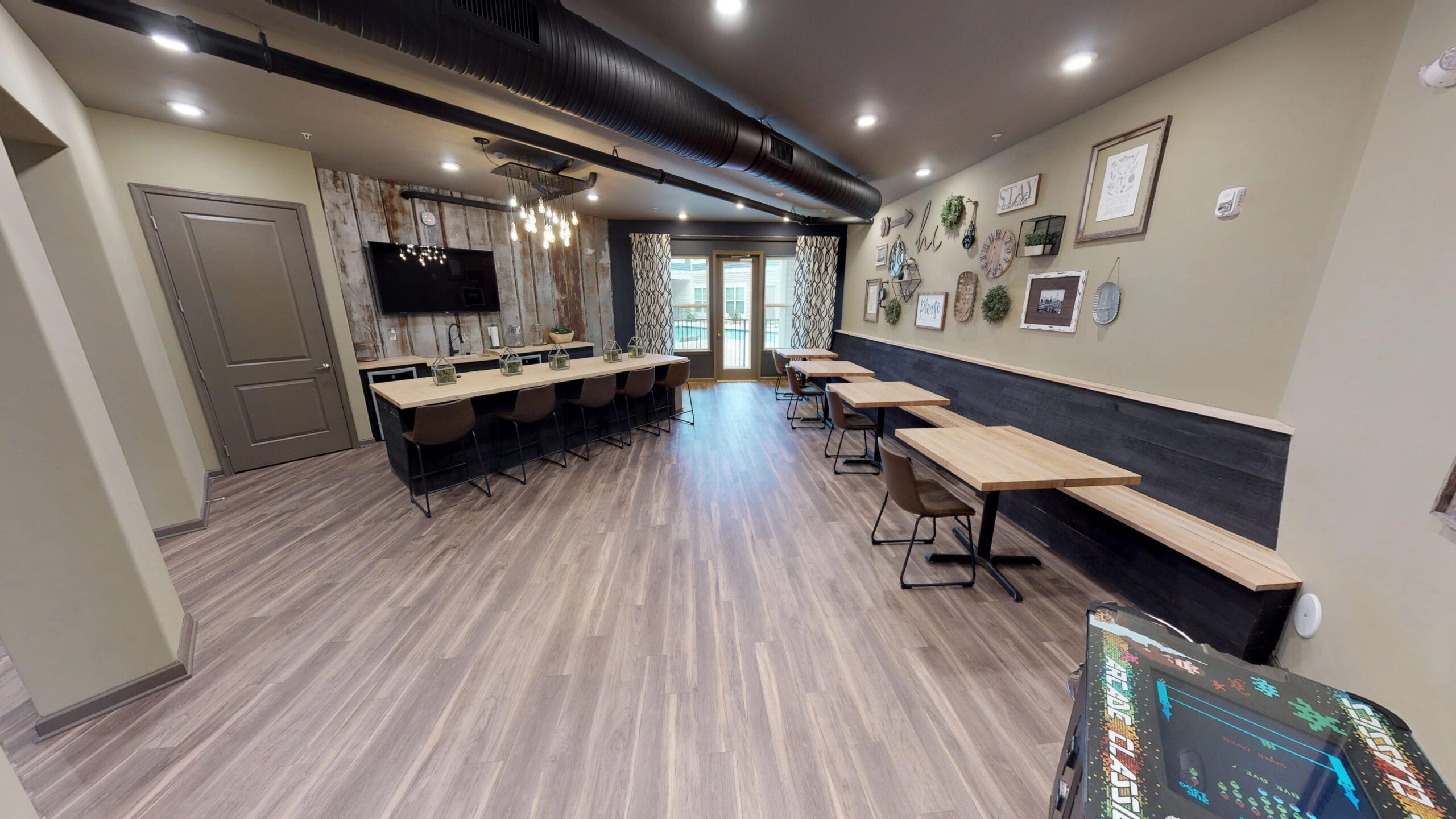 Community Clubhouse with Entertaining Kitchen